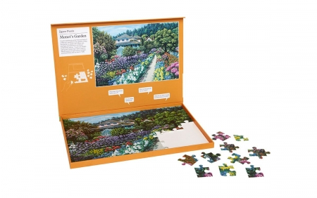 Monet's Garden - Dementia Friendly 63 Piece Jigsaw Puzzle