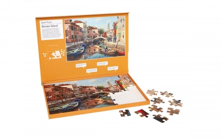 Burano Island - Dementia Friendly 63 Piece Jigsaw Puzzle