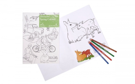 Spring Colouring Book for Dementia