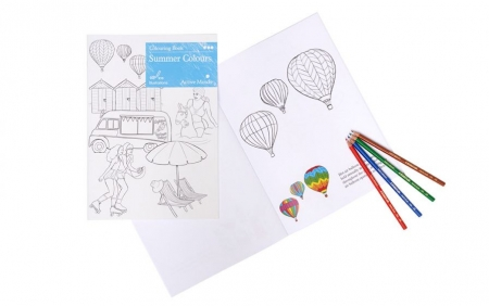 Summer Colouring Book for Dementia