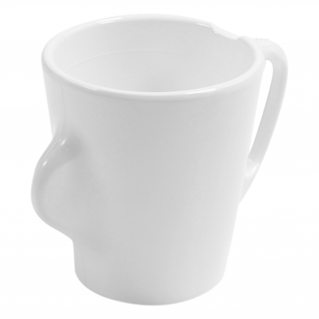 Dalebrook Omni White Mug - White Handle - 300ml 130x90x100mm - Set of 12