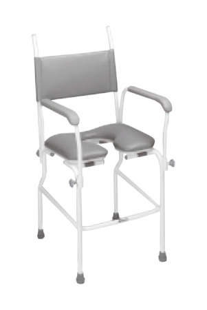 Aquamaster Static Shower Commode Chair - Different Seat Widths Available