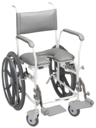 Aquamaster Self Propelled Shower Commode Chair - Different sizes available