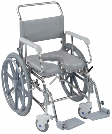Transaqua Self Propelled Shower Commode Chair - Different sizes available