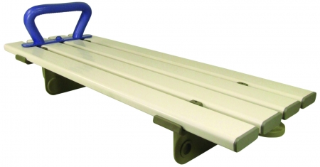 "Medina Plastic Bath Board with Handle - 28"" Width"
