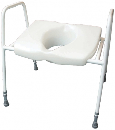 Cosby Bariatric Toilet Seat and Frame