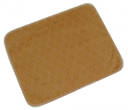 Washable Chair or Bed Pad - Brown or Blue