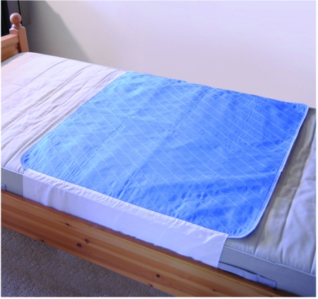 Washable Bed Pad with Flaps