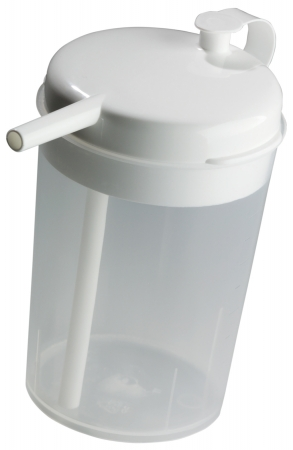 Novo Cup with Built in Straw