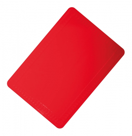 Anti-Slip Silicone Table Mat - 350x250mm - Red