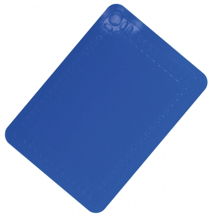 Anti-Slip Silicone Table Mat - 250x180mm - Blue