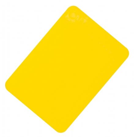 Anti-Slip Silicone Table Mat - 250x180mm - Yellow