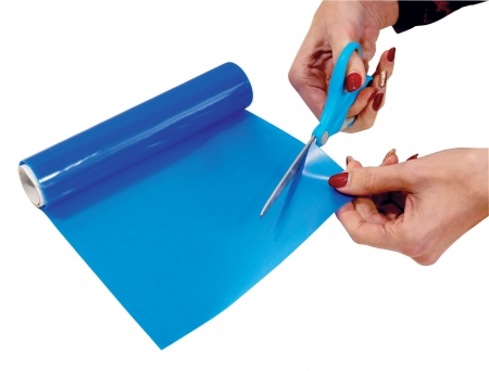 Non Slip Silicone Roll - 200x1000mm - Blue