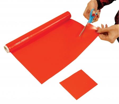 Non Slip Silicone Roll - 400x1000mm - Red