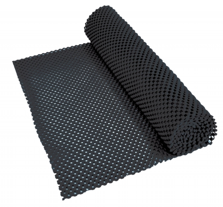 Non Slip Fabric 150x30cm - Black