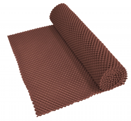 Non Slip Fabric 150x30cm - Brown