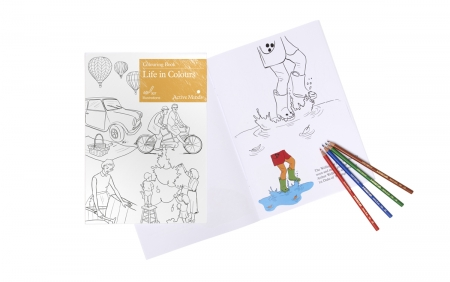 Life in Colours - Colouring Book