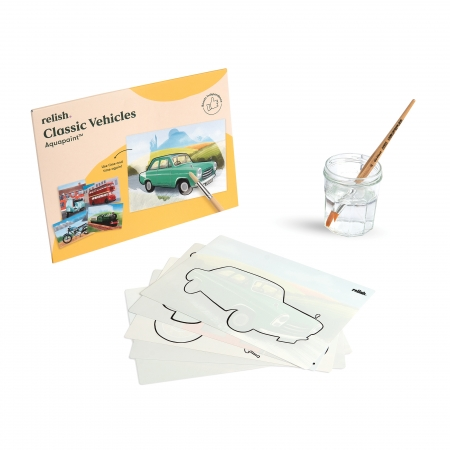 Aquapaint Painting with Water - Classic Vehicles