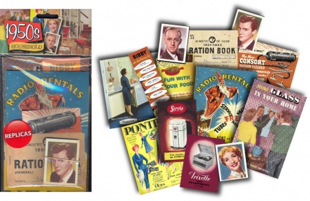 1950s Household Memorabilia Pack - 6 Pack