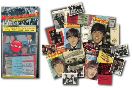 Beatlemania Memorabilia Pack - 6 Pack