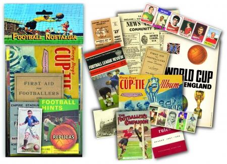 Football Nostalgia Memorabilia Pack - 6 Pack