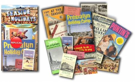 Seaside Holidays Memorabilia Pack - 6 Pack