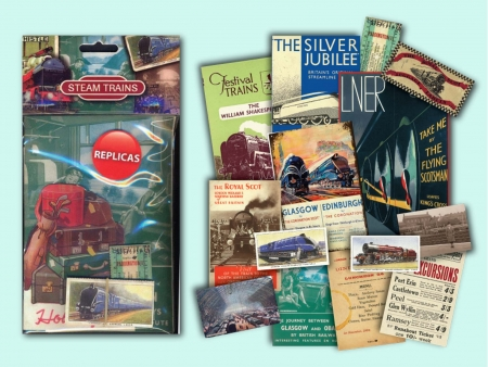 Steam Trains Memorabilia Pack - 6 Pack