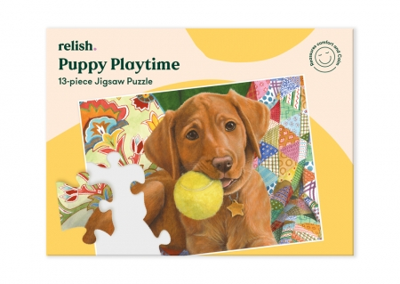 Puppy Playtime - Jigsaw Puzzle - 13 Pieces