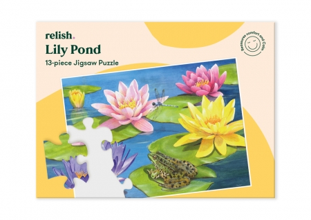 Lily Pond - Jigsaw Puzzle - 13 Pieces