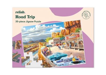 Road Trip - Jigsaw Puzzle - 35 Pieces