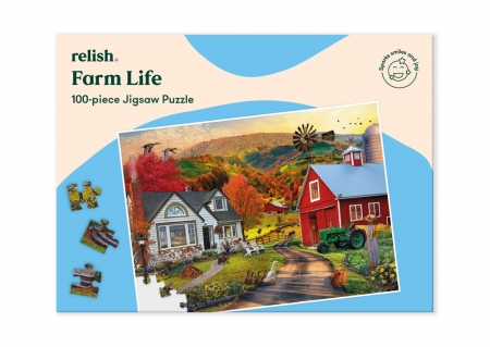 Farm Life - Jigsaw Puzzle - 100 Pieces