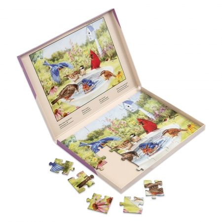 Bathing Birds - Jigsaw Puzzle - 35 Pieces