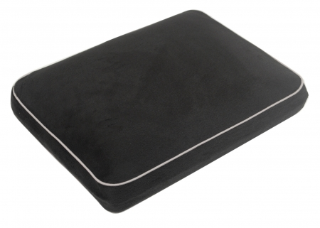 Memory Foam Contour Travel Pillow - Black