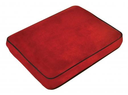 Memory Foam Contour Travel Pillow - Red