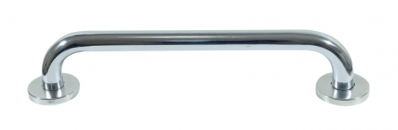 Polished Chrome Steel Grab Bar - Different Lengths Available