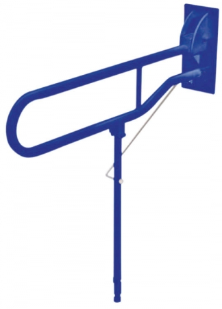 Solo Hinged Arm with Back Plate and Leg - BLUE - 775mm