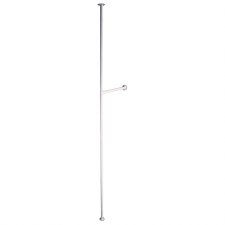 Solo Floor to Ceiling Pole with Side Leg at 900mm