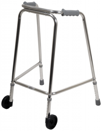Standard Lightweight Walking Frame - With Wheels - Different Sizes Available