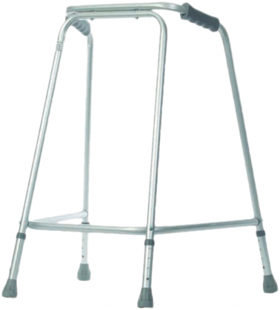 Extra Wide Lightweight Walking Frame - Medium - No Wheels
