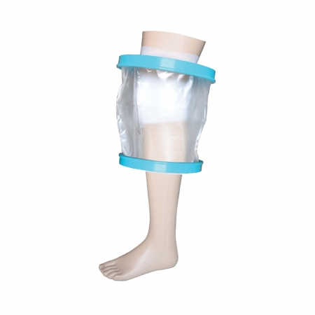 Waterproof Cast and Bandage Protector for Showering/Bathing - Adult Knee