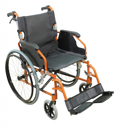 Aidapt Deluxe Lightweight Self Propelled Aluminium Wheelchair - Different Colours Available