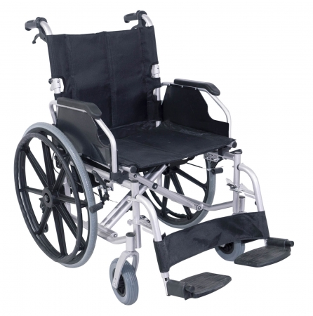 The Consort Deluxe Self Propelled Steel Wheeled Chair