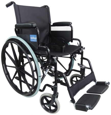 Aidapt Self Propelled Steel Transit Chair - Different Colours Available
