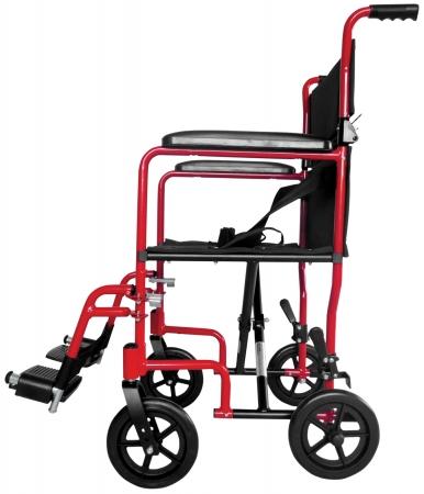 Aidapt Aluminium Compact Transit Chair - Red