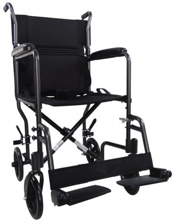 Aidapt Aluminium Compact Transit Chair - Hammered Effect