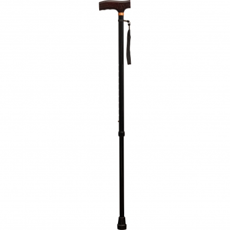 Extendable Walking Cane with Strap