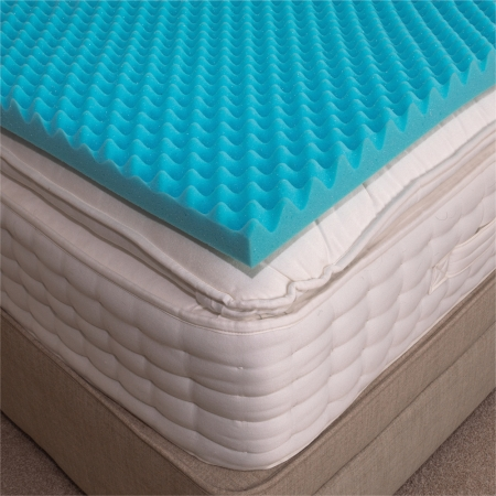 Gel Memory Foam Mattress Topper  - Different Sizes Available