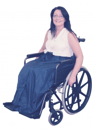 Fleece Lined Universal Wheelchair Cosy