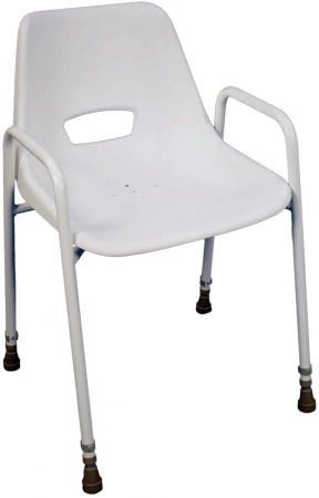 Milton Stackable Shower Chair - Height Adjustable