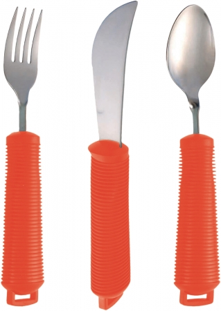 Bendable Cutlery Black and Red